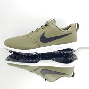 NEW- Retail $110, Nike Golf leather shoes.